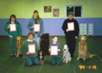 Members of Mount Pleasant Mi kennel club