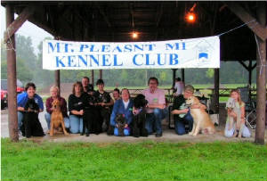 Tail Waggers Mount Pleasant Mi kennel club